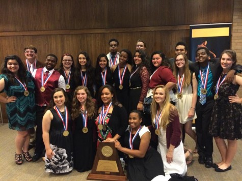 The 2015 Class 6A UIL One Act Play State Champions