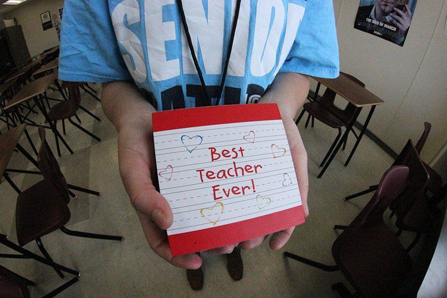 Teacher appreciation: Day one