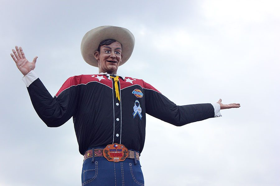 Big Tex remains a major attraction at the State Fair of Texas.