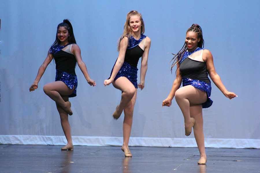 Jades Squad performs its routine to Greatest Time of Year choreographed by junior Jade Smith.