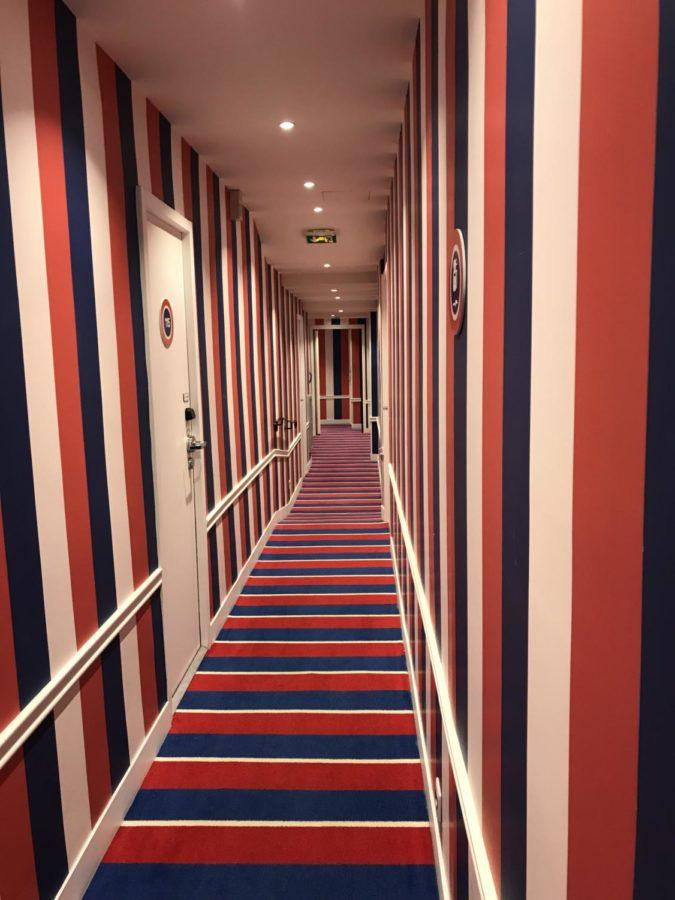 hallway for hotel 34B