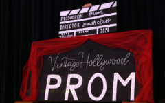The 2019 prom theme is displayed on Tuesday, Jan. 8 during A-block lunch.