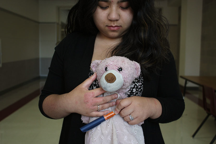 I grab my pink stuffed animal, Marcy, and hold her against my chest as another round of tears begins to fall.