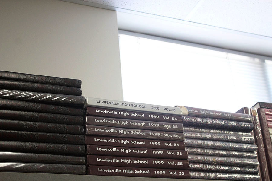 The+yearbook+staff+is+hosting+a+Fire+Sale+on+old+yearbooks+through+Tuesday%2C+Oct.+1.