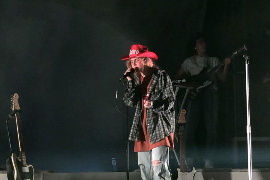 she said cowboy hat yeehaw
