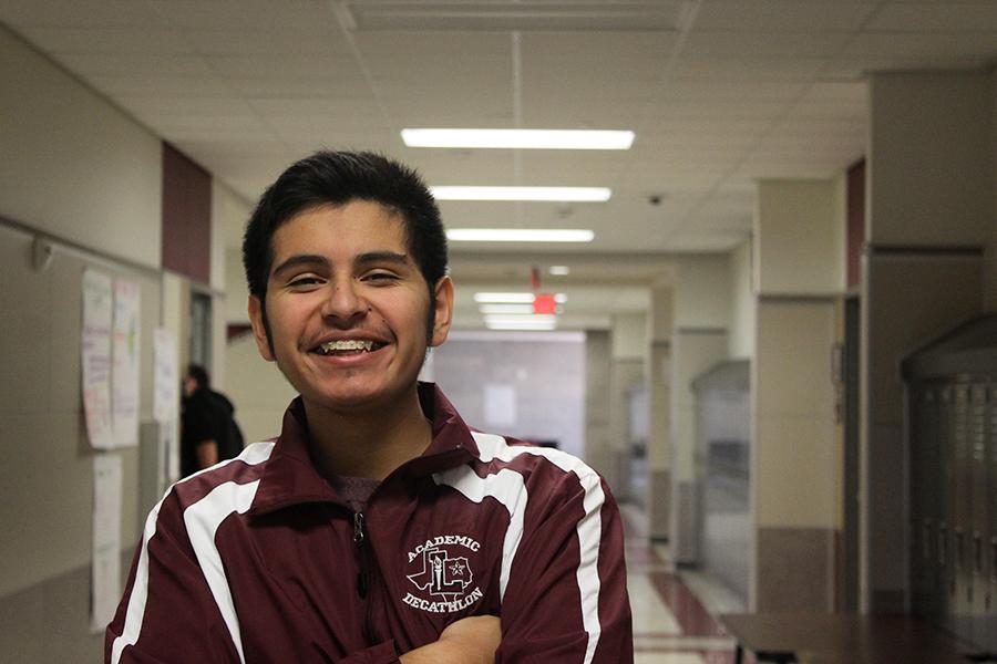 Senior Johnathan Vasquez
