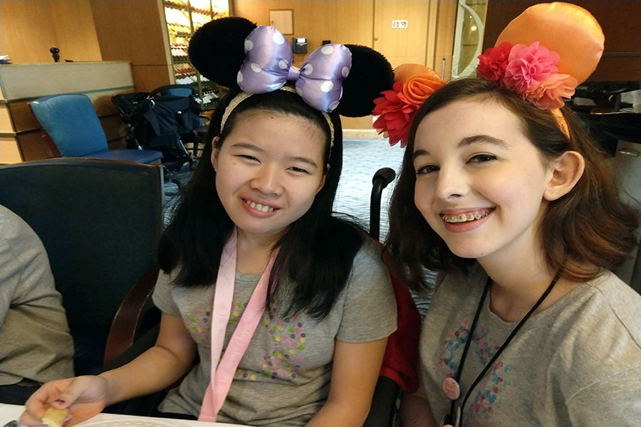 Lily and Summer Philips