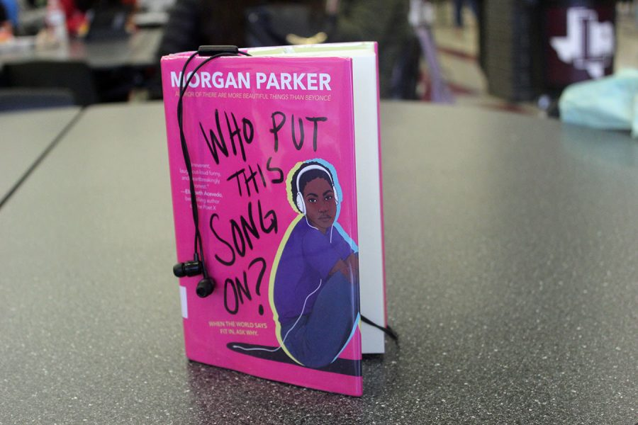 """Author Morgan Parker released new realistic fiction novel, """"Who Put This Song On?,"""" on Tuesday, Sept. 24, 2019."""
