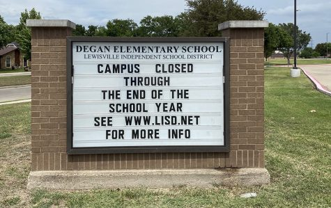 Schools in the district close for the remainder of the year and at-home learning continues.
