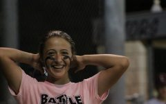 Madeline Brooks smiles during last year's Battle of the Bats.